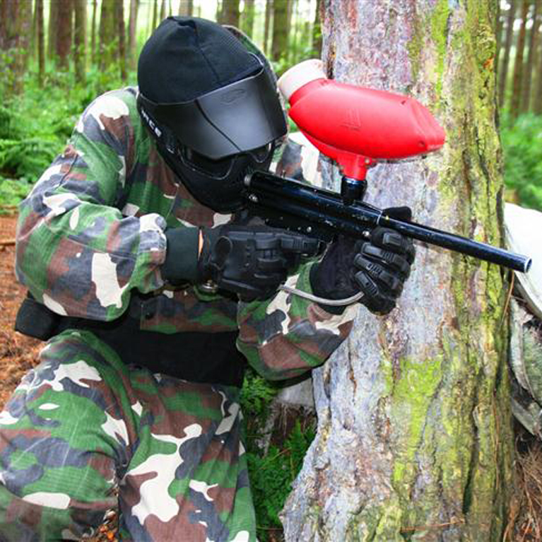 Paintballing For Two - Book Now