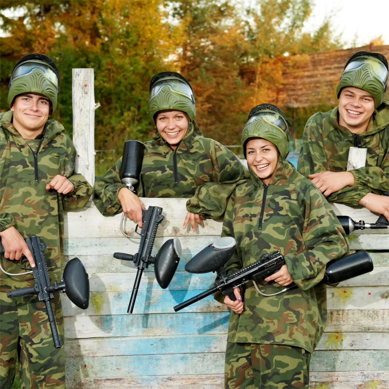 Paintballing For Eight - Book Now