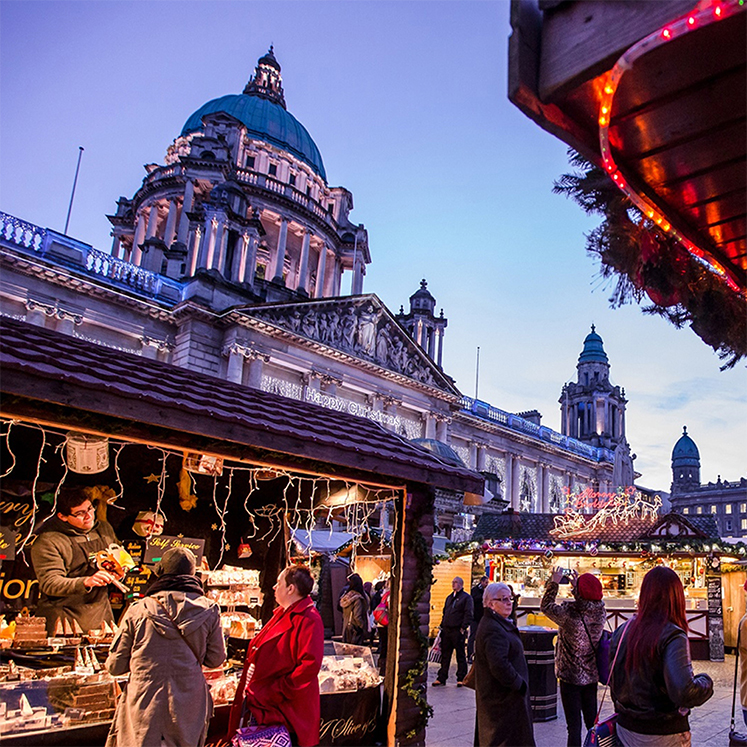 Belfast Christmas Markets and Titanic Experience - Book Now