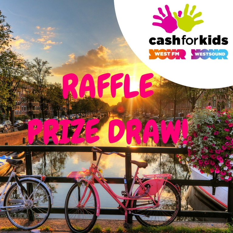 Cash For Kids Amsterdam Mini Cruise £1 Raffle! - Enter Now