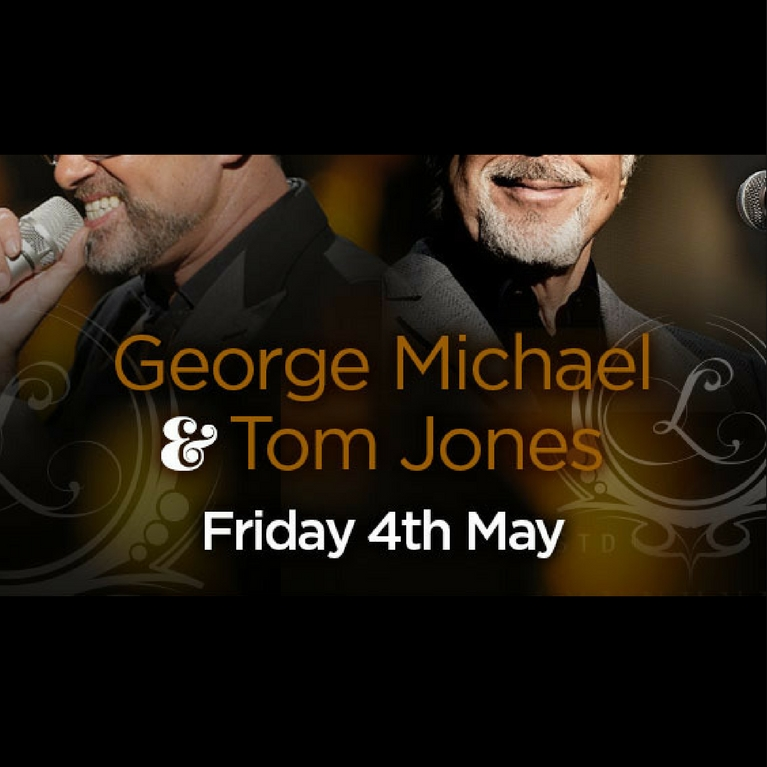 George Michael & Tom Jones Tribute Night - Book Now